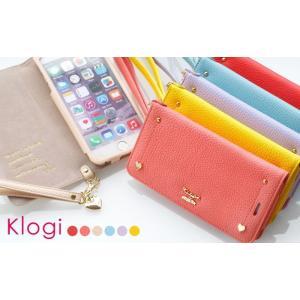 KLOGI iphone6Plus/6sPlus 手帳型 スマホケース ハート|piccola