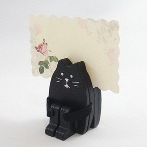 DECOLE concombre 体育座り メ モスタンド 黒猫|piccola