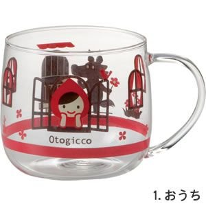 DECOLE Otogicco 耐熱マグ おうち|piccola