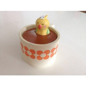 DECOLE concombre カップ風呂こもの入れ インコ|piccola