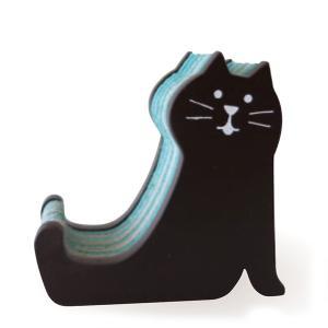 DECOLE concombre しましまスマホスタンド ネコ CAT|piccola