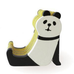 DECOLE concombre しましまスマホスタンド パンダ PANDA|piccola