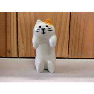 DECOLE concombre 猫のお箸置き 三毛猫|piccola