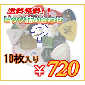 お得なピック詰め合わせ <<10枚入り>>|pick-store