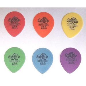 Jim Dunlop ギター ピック Tortex Tear Drop 413 pick-store
