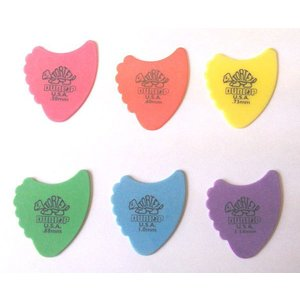 Jim Dunlop ギターピック Tortex Fins 414R ゲージ(mm):. 60, .73, .88, 1.0, 1.14 pick-store