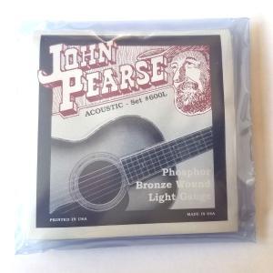ジョン・ピアース 600L フォスファーブロンズ弦 6弦用 ライトゲージ .012 .016 .02...