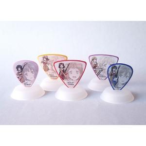 ESP×バンドリ! Poppin'Party 5種類ピック+ピックスタンド×5セット キャラピック|pick-store