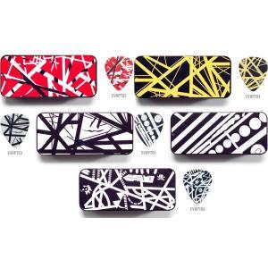 Jim Dunlop ピック EVHPT エディ・ヴァン・ヘイレン ピック6枚入りピック・ケース アーティストピック|pick-store
