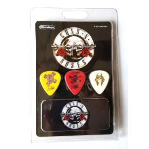 Jim Dunlop ギターピック GNR002 GUNS N'ROSES 6/PK&TIN ピック6枚と缶ケースのパック アーティストピック pick-store