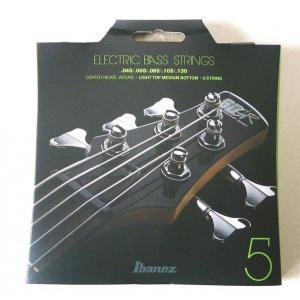 Ibanez アイバニーズ 5弦 エレキ ベース弦 ライトトップミディアムボトム IEBS5C pick-store