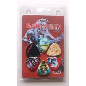 Perri's アイアン・メイデン ピック IRON MAIDEN LP-INM2 6枚セット アーティストピック|pick-store