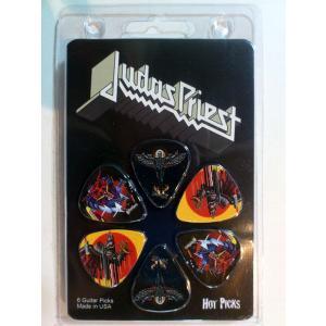 Perri's ジューダス・プリースト ピック  Judas Priest LP-JP1N 6枚セット アーティストピック|pick-store