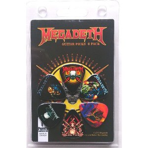Perri's メガデス ピック MEGADETH LP-MD2N 6枚セット アーティストピック|pick-store