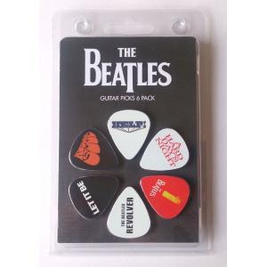 Perri's ビートルズ ピック THE BEATLES LP-TB2 6枚セット アーティストピック|pick-store