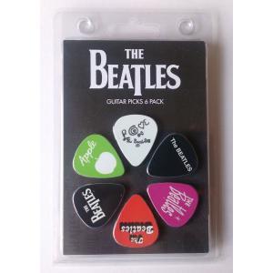 Perri's ビートルズ ピック THE BEATLES LP-TB4 6枚セット アーティストピック|pick-store