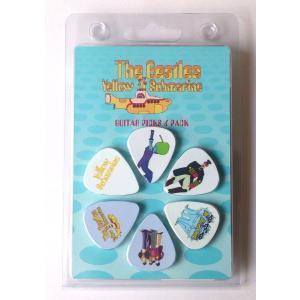 Perri's ビートルズ ピック THE BEATLES LP-TB5N 6枚セット アーティストピック|pick-store