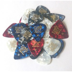 アーニーボール ピック Pearloid Color Pick|pick-store
