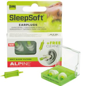 ALPINE HEARING PROTECTION Sleep Soft イヤープラグ 耳栓