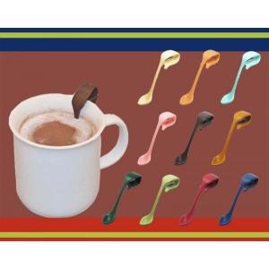成績UP合格祈願と受験対策グッズ/落ちないクリップ式ココアスプーン(全10色選択)ピックリップPicklipカップマーカー|picklip