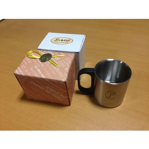 ステンレス2重構造 保温保冷マグカップ/ピックリップPicklipココアスプーン用カップ|picklip