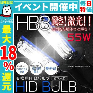 HID バルブ HB3 純正交換用 ヘッドライト HIDバルブ 55W ケルビン数選択 2個1セット いい買い物セール|pickupplazashop