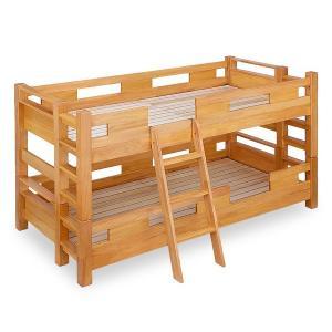 耐震 二段ベッド 耐震ベッド 頑丈 人気 子供用 子供 高耐荷重 シングル ダブル 木製 木製ベッド...