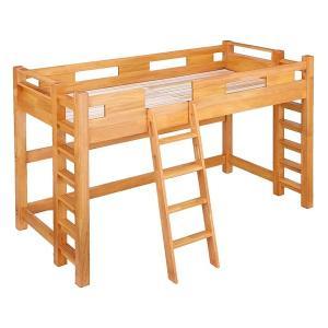 ロフトベッド 木製 ハイタイプ 木製ベッド 人気 高耐荷重 施設 合宿 すのこ すのこベッド シング...