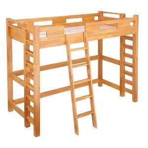 ロフトベッド 木製 ハイタイプ 人気 耐震 耐震ベッド 頑丈 業務用 施設 合宿 木製ベッド すのこ...