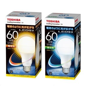 TOSHIBA 東芝 LED電球 60W形相当...の関連商品6