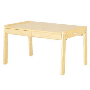 1053cb3695b6d2 3段階昇降式 子供用机 キッズデスク 木製 キッズテーブル ミニテーブル norsta Large desk(ノスタ ラージデスク) ナチュラル