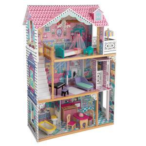 CEマーク認定 家具のおもちゃ15点付き ミニチュアハウス ドールハウス 人形遊び 家具付き 木製 ...