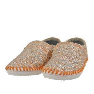 レディース 靴 カジュアルシューズ マドラス モデロ ビジュー付き スリッポン 送料無料 オレンジテクスチャー DML6026ORA-TX|pieds