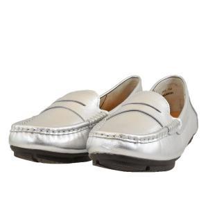 レディース 靴 カジュアルシューズ マドラス モデロ ペタンコ ドライビング ローファー 送料無料 シルバー DML7005SIL|pieds