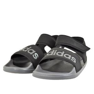メンズ 靴 サンダル アディダス アディレッタ スポーツサンダル コアブラック/グレーファイブ/コアブラック(ブラック) FY8649 pieds