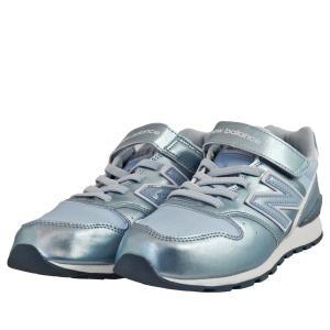 ジュニア キッズ 靴 スニーカー ニューバランス シャイニーサックス KV996SUY|pieds