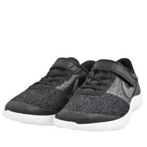 ジュニア キッズ 靴 スニーカー マジックテープ ナイキ フレックスコンタクト ブラック NIKE917934-002|pieds
