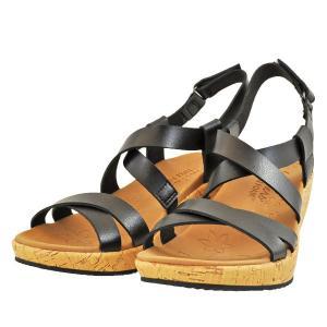 レディース 靴 サンダル スケッチャーズ ビバリーダンスムーブス ウェッジソール 厚底 ブラック SKECHERS119087BLK|pieds