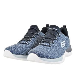 レディース 靴 スニーカー スケッチャーズスポーツ 軽量 スリッポン ネイビー/ライトブルー SKECHERS12991NVLB|pieds