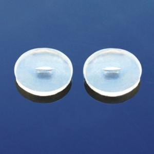 シリコンカバー 10輪セット 安心の医療用樹脂 金属アレルギー対策 メッキピアスのカバーに|piena