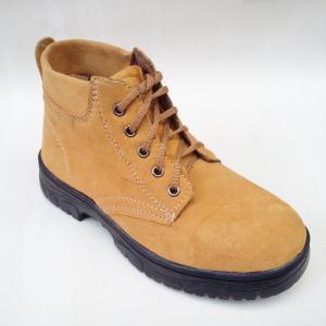 牛革作業靴、耐破壊性安全靴、鋼製つま先キャップレザー、耐摩耗性、耐油性、通気性、滑り止め、耐油性、耐...