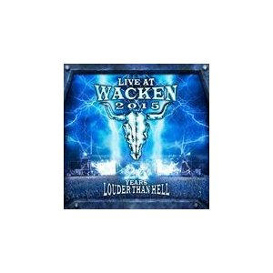 LIVE AT WACKEN 2015 - 26 YEARS LOUDER THAN HELL / VARIOUS ヴァリアス(輸入盤) (2BLU-RAY+2CD) 0190296990854-JPT pigeon-cd