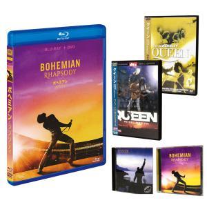 6月以降入荷予定 ボヘミアン・ラプソディ (Blu-ray+DVD) & QUEEN商品(輸入盤2CD+2DVD) SET / ラミ・マレック,QUEEN,クィーン 5SET-FXXF87402-HPM|pigeon-cd