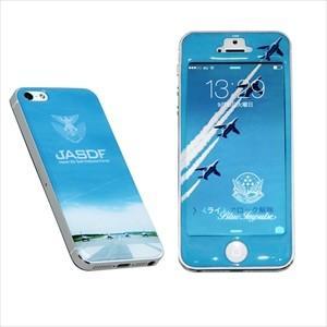 航空自衛隊 ブルーインパルス 1 iPhoneSE/5/5S用 デザインプロテクター a-0001-SR|pigeon-cd