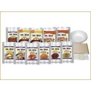 美味しい防災食スペシャルセット(1人×2日分) (保存水無し) BS9-FL 防災 非常食 保存食|pigeon-cd