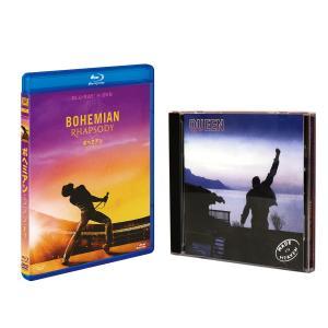 2019.04.17発売 ボヘミアン・ラプソディ (Blu-ray+DVD) & Made in Heaven(輸入盤CD) SET / ラミ・マレック,QUEEN,クィーン Heaven-FXXF87402-HPM|pigeon-cd