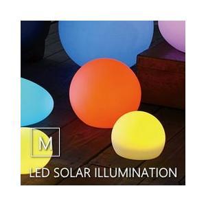 ●LEDソーラーイルミネーションライト リモコン付き ラウンド Mサイズ  ●太陽光を電力に換え内蔵...