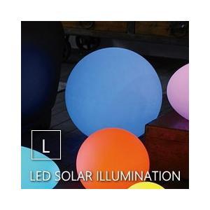 ●LEDソーラーイルミネーションライト リモコン付き ラウンド Lサイズ  ●太陽光を電力に換え内蔵...