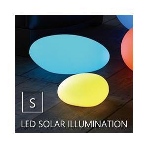 ●LEDソーラーイルミネーションライト リモコン付き ストーン Sサイズ  ●太陽光を電力に換え内蔵...