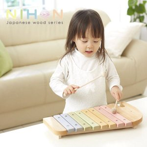 木のおもちゃ 木琴 日本製|piglet